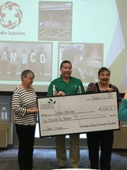 Sandco Industries received a local grant which it used for security at its Life Enrichment Center.