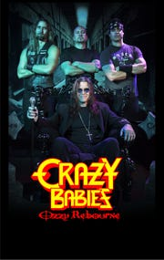 Ozzy Osbourne tribute band Crazy Babies