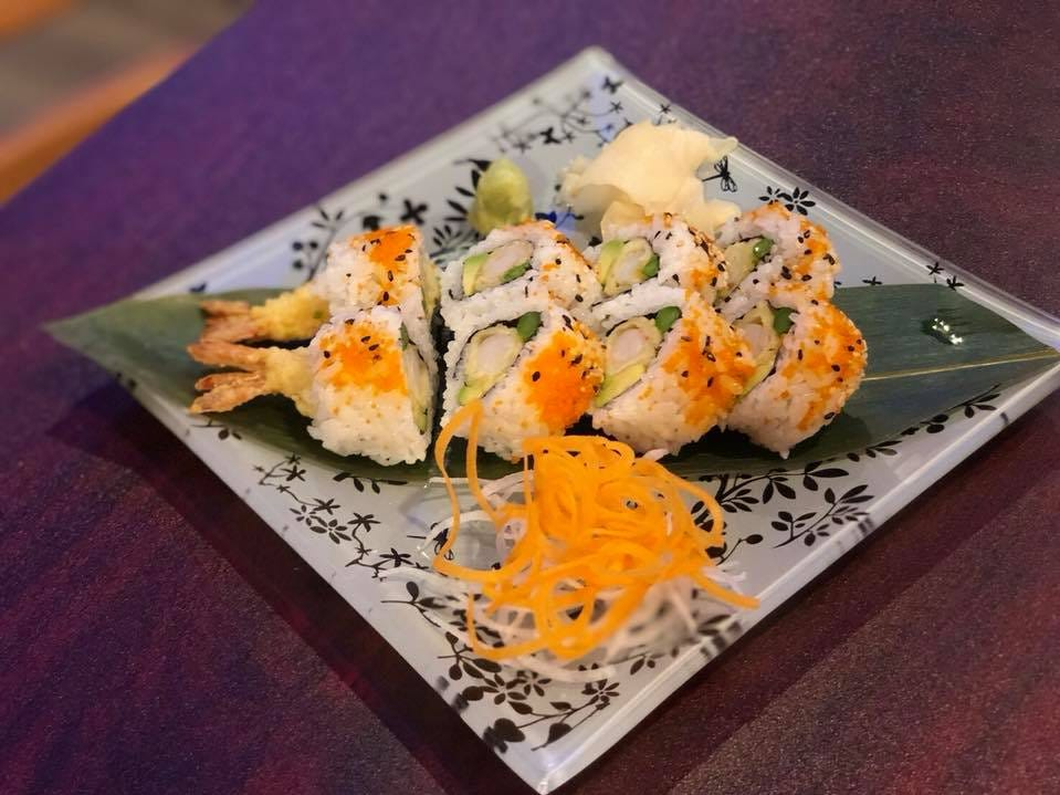 Ninja Thai & Sushi serves traditional Thai dishes as well as sushi and sashimi.