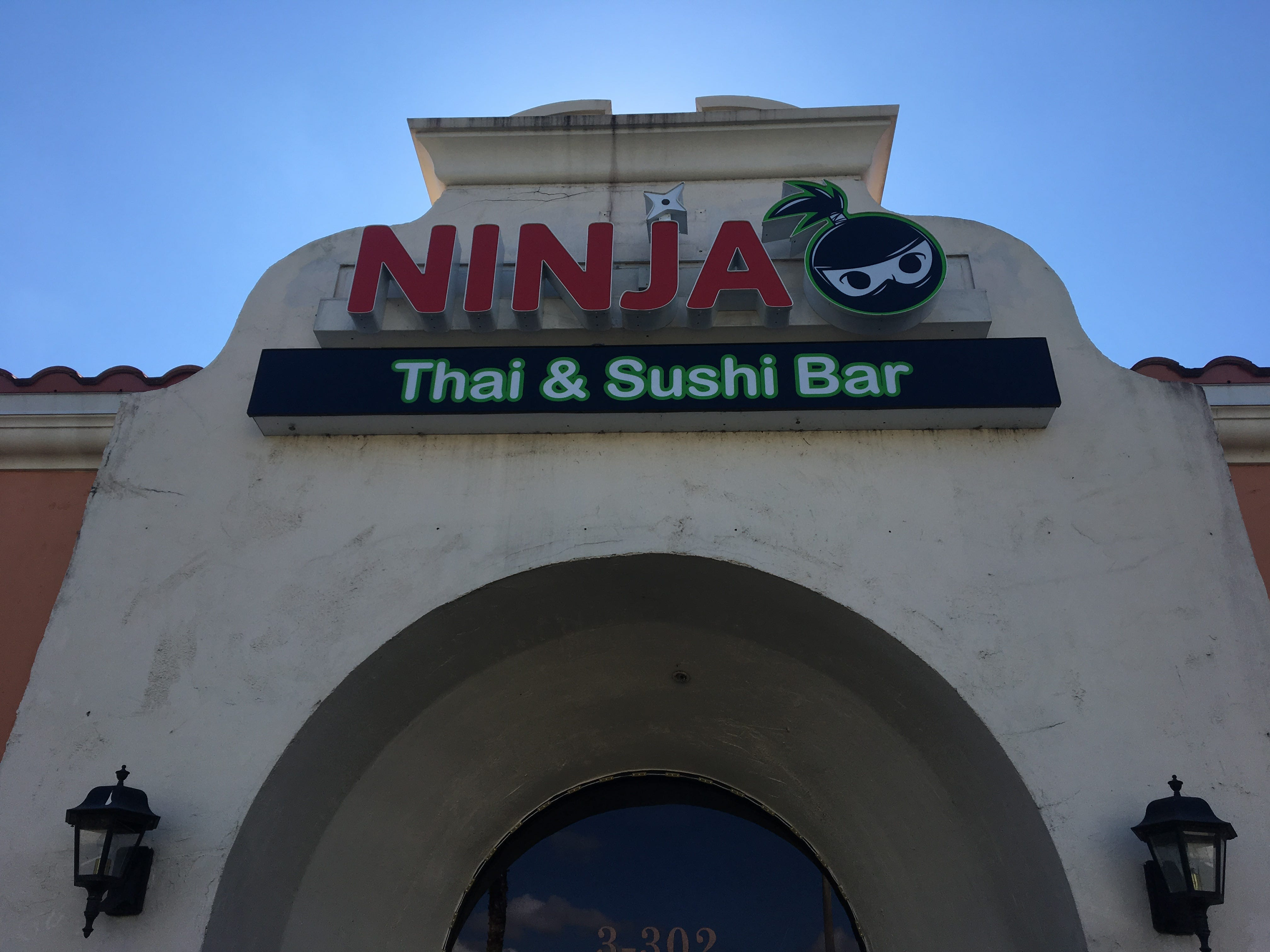 Ninja Thai & Sushi Bar opened in the former Koreana space in south Fort Myers in May.