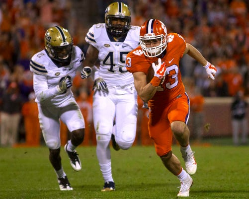 Ncaa Football Pittsburgh At Clemson
