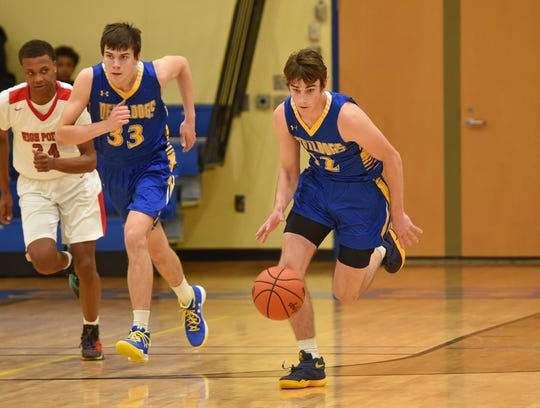Sam Brown (12) and Jacob Brown (33) are the latest from their family to play for the Devildogs.