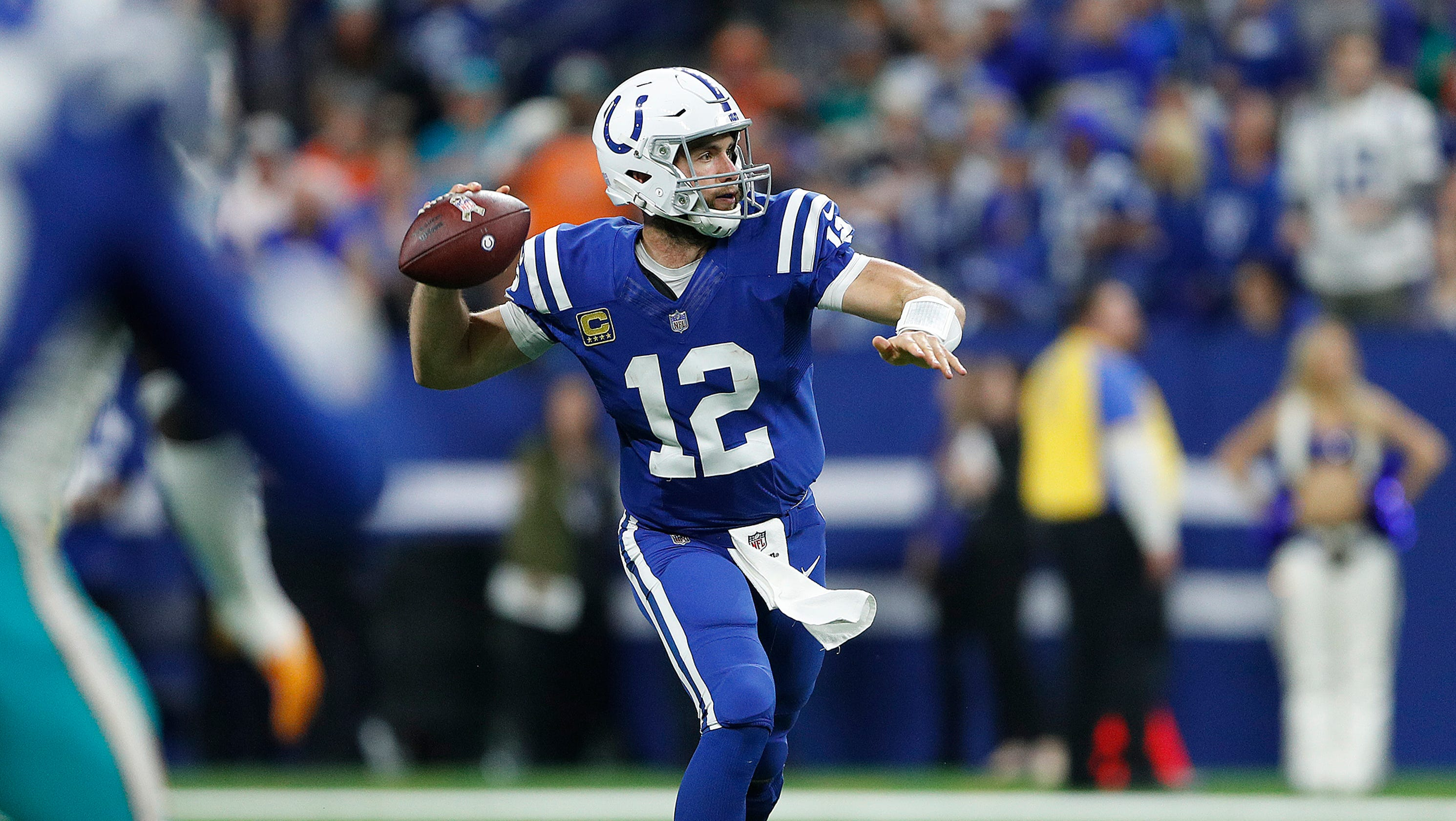 Animated Andrew Luck channels Liam Neeson in 'Taken'