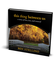 """""""This Thing Between Us"""" by Ben Stellino."""