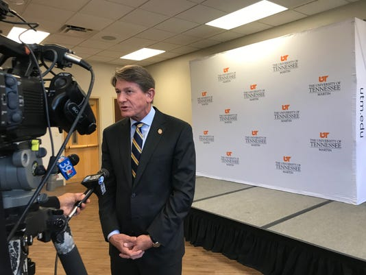 Randy Boyd day one as UT interim President 3