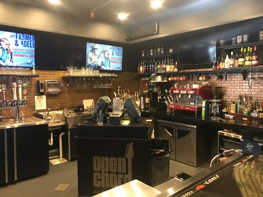 Bearden's Open Chord Music is a combo venue, bar/coffee shop, music shop and school.