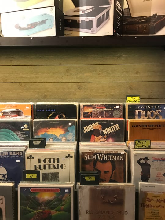 Open Chord on Kingston Pike offers a selection of vinyl records, record players and other music equipment.