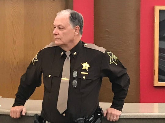 Current Chief Deputy Steve Hartman will stay on to help the new sheriff administration learn the ropes. Hartman estimated his extended service will be months rather than years.
