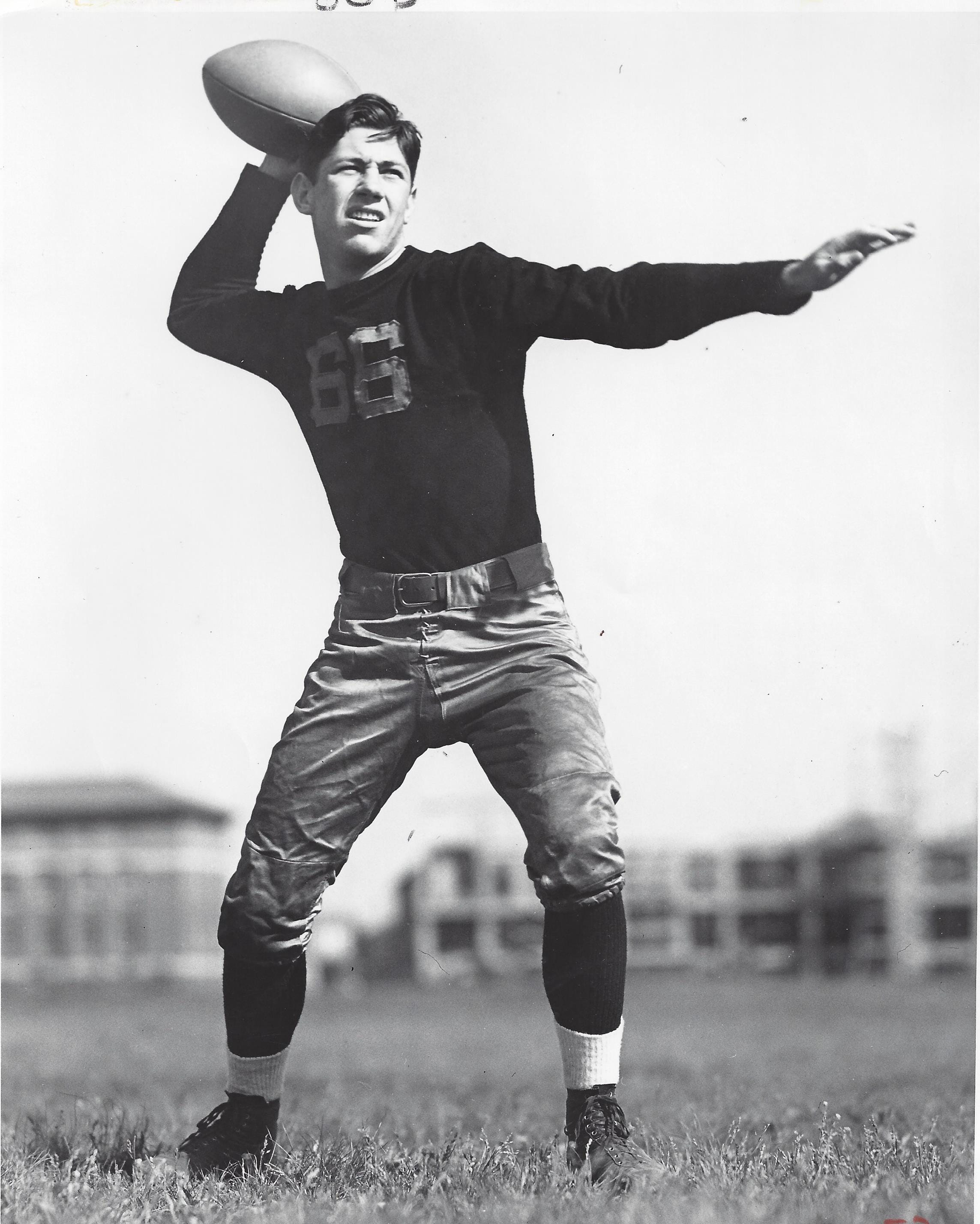 "James Carter was one of Purdue's ""Touchdown Twins"" in the mid 1930s."