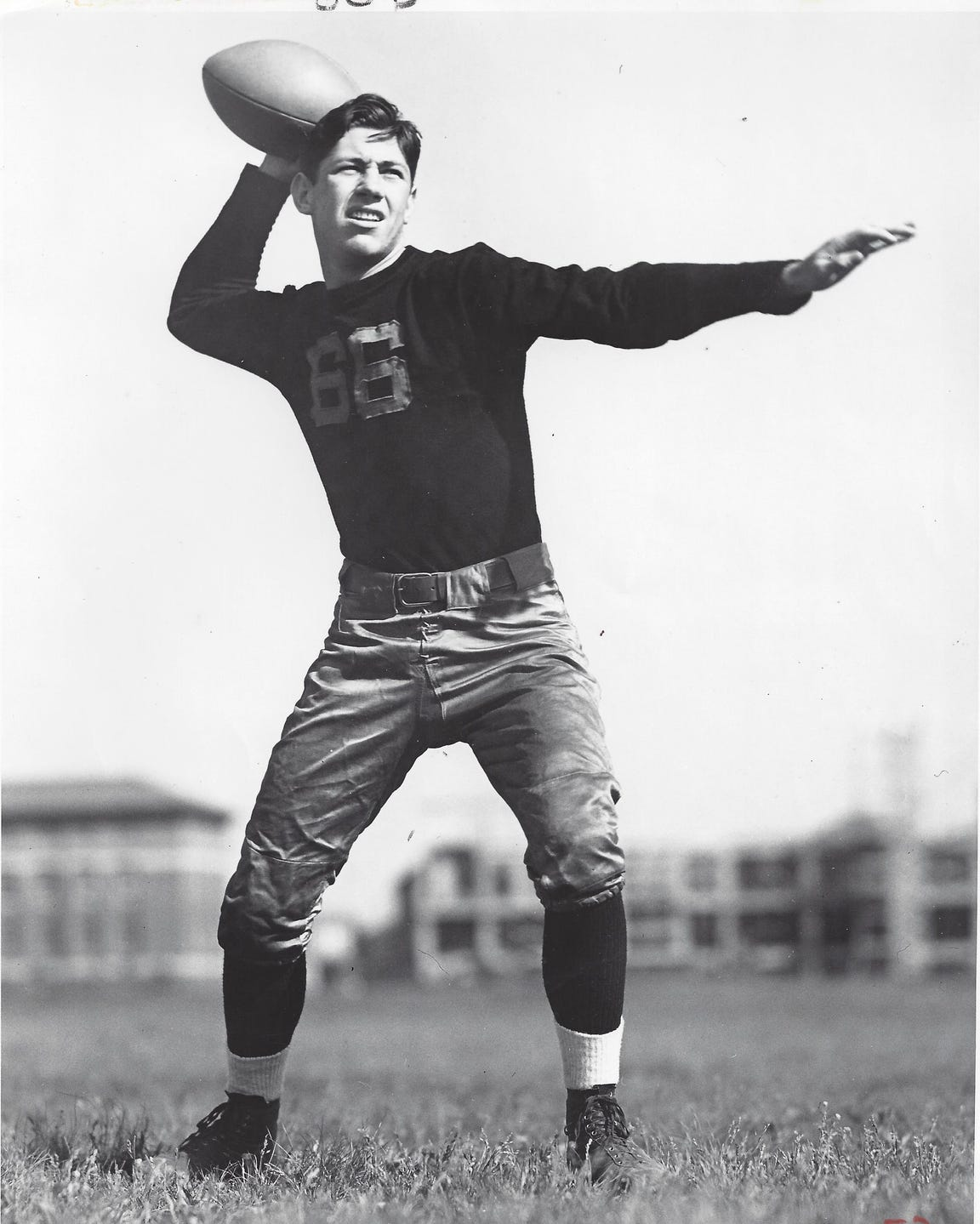 """James Carter was one of Purdue's """"Touchdown Twins"""" in the mid 1930s."""
