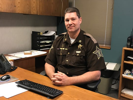 Tippecanoe County sheriff's Capt. Terry Ruley was selected by Sheriff-elect Bob Goldsmith to be the department's chief deputy.