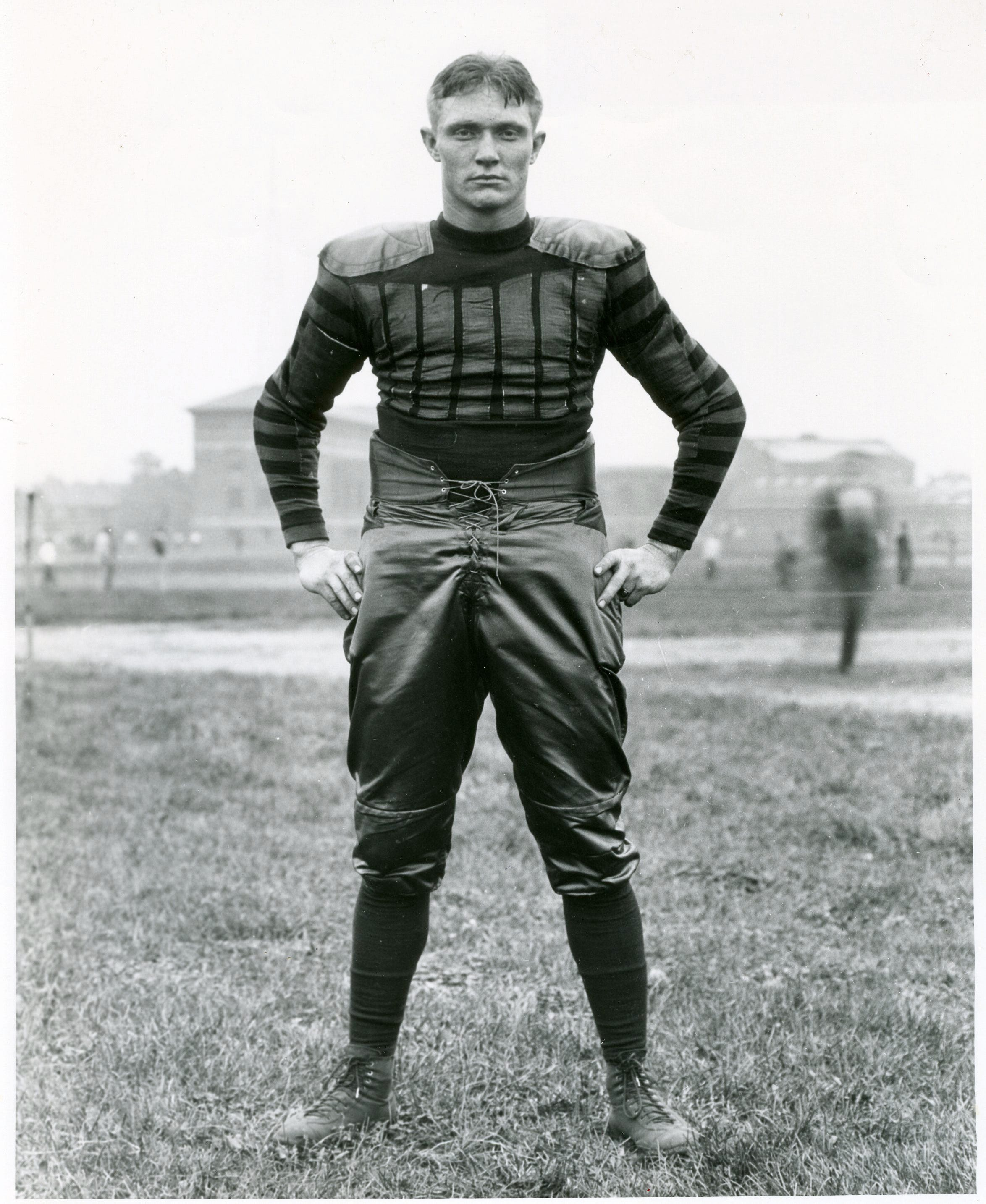 "Guy ""Red"" Mackey was a Purdue athlete before becoming the school's athletic director from 1942 to 1971."