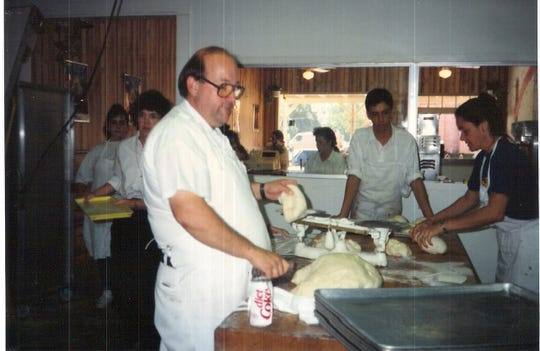 Sammy Guilbeaux worked in his Southside Bakery for more than 40 years.