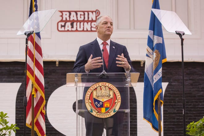 Louisiana Gov. John Bel Edwards will be the featured speaker at UL Lafayette's Fall 2018 Commencement ceremony. The governor marked the start of a special legislative session in May with an address at UL.