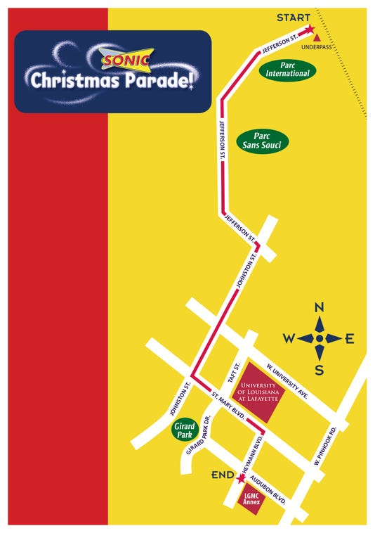 Christmas Parade Route 09