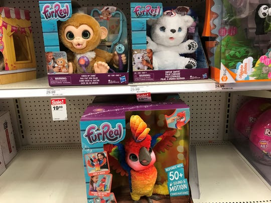 Top Toys for Christmas 2018 the Furreal at Target