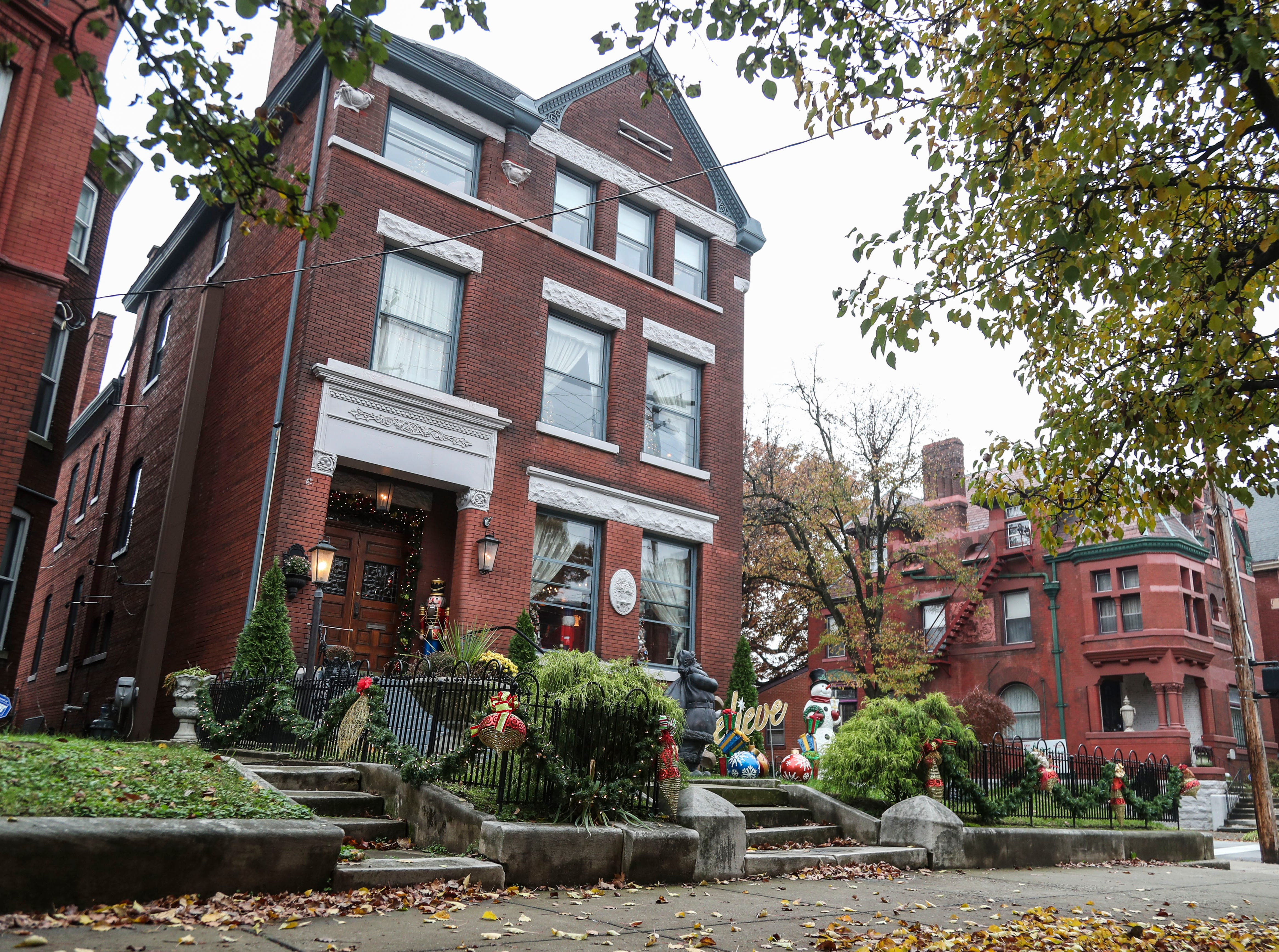 """""""Living in Old Louisville is wonderful,"""" said homeowner David Brown. """"This is the best thing in this city. The homes are magnificent.I look at this house as, I am just its caretaker until the next person gets it – because this house is here forever."""" The home was built in 1893."""