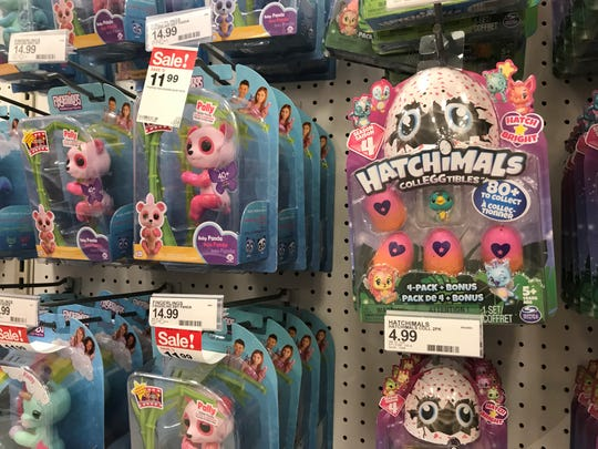 Top Toys for Christmas 2018 Fingerlings at Target
