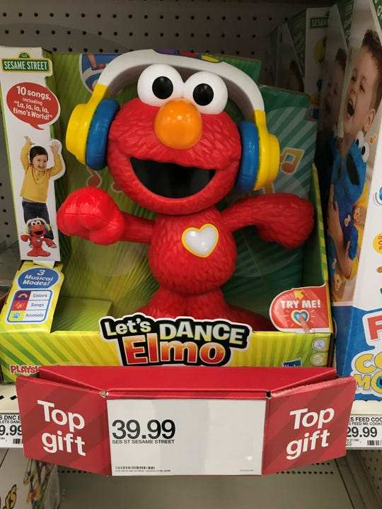 Let's Dance Elmo on sale at Target for $39.99