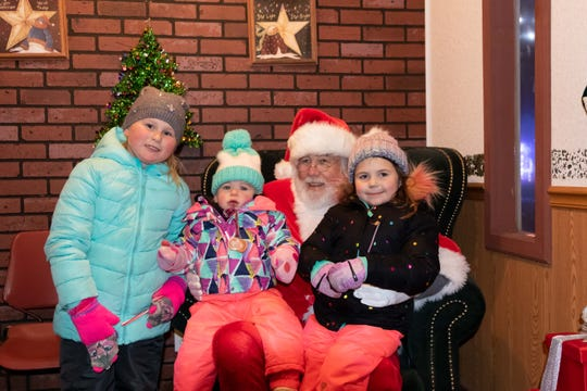 "Santa Claus regularly visits Rotary Winter Wonderland at Wildwood Zoo in Marshfield. His weekly schedule can be found on the event's Facebook page by searching ""Marshfield Rotary Winter Wonderland."""