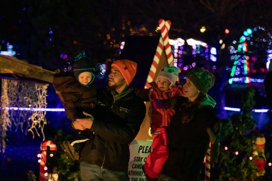 Visitors can walk or drive through the holiday lights displays at Rotary Winter Wonderland at Wildwood Zoo in Marshfield. It is open from 5 p.m. to 9 p.m. daily through Dec. 31.