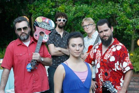 Memphis Ukulele Band plays Lafayette's Music Room on Sunday.