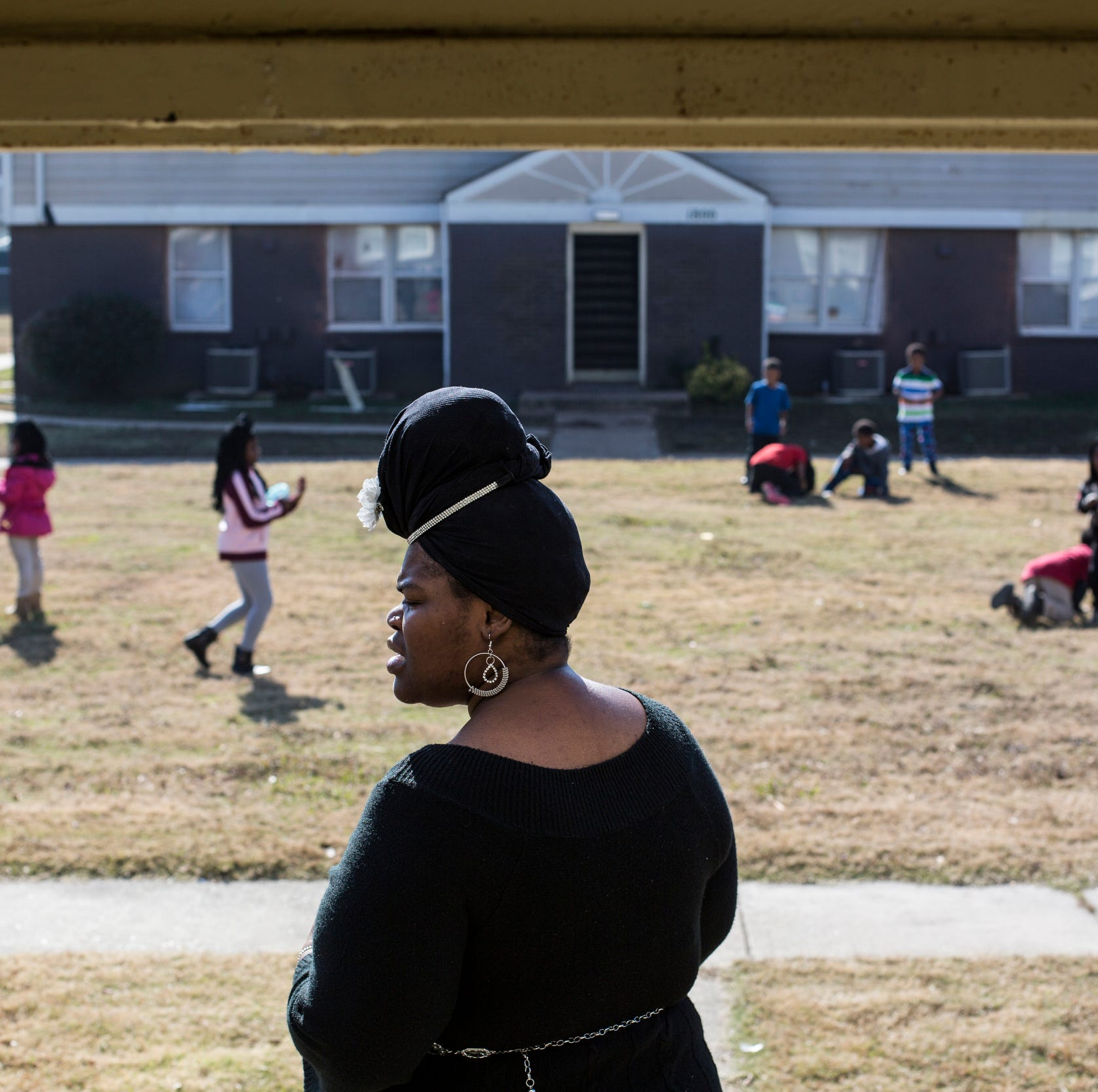 Renovations to a long-neglected Orange Mound apartment complex make for a difficult winter