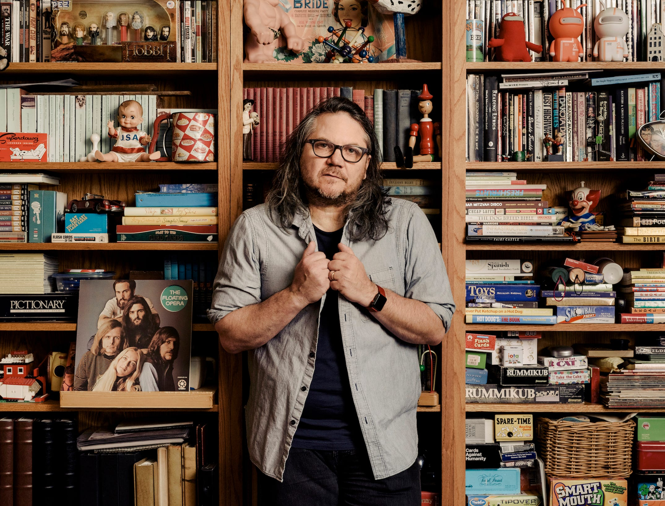 Jeff Tweedy will play the Germantown Performing Arts Center on March 7.