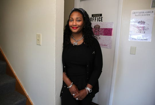 Chandra Cooper's Grateful Girls Inc. helps female human trafficking victims. She started Queens Closet as a way to handle donated clothes and give the women and girls job experience.