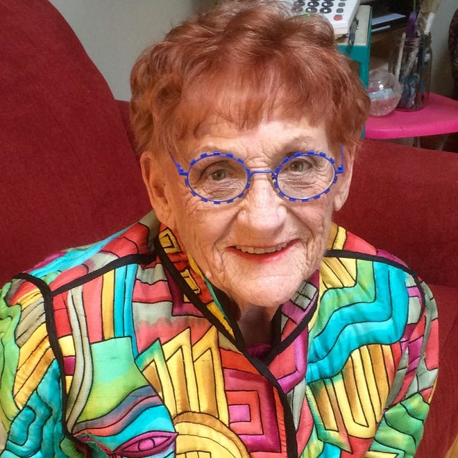 Ramona Audley, 88, died Nov. 19. She was known for her vibrantly colored artwork, which matched her vibrant, outgoing personality.