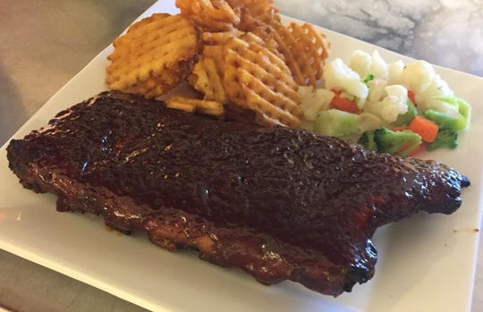 One of the signature items at Big Sky Country is the barbecue ribs.