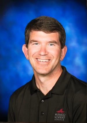 Muskego-Norway School Board President Rick Petfalski
