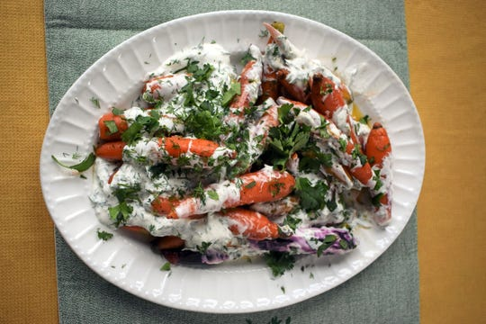Using different colors of carrots will add interest to this side dish.
