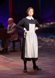 "Courtney Bassett stars as Maria Rainer in Alabama Shakespeare Festival's production of ""The Sound of Music."""