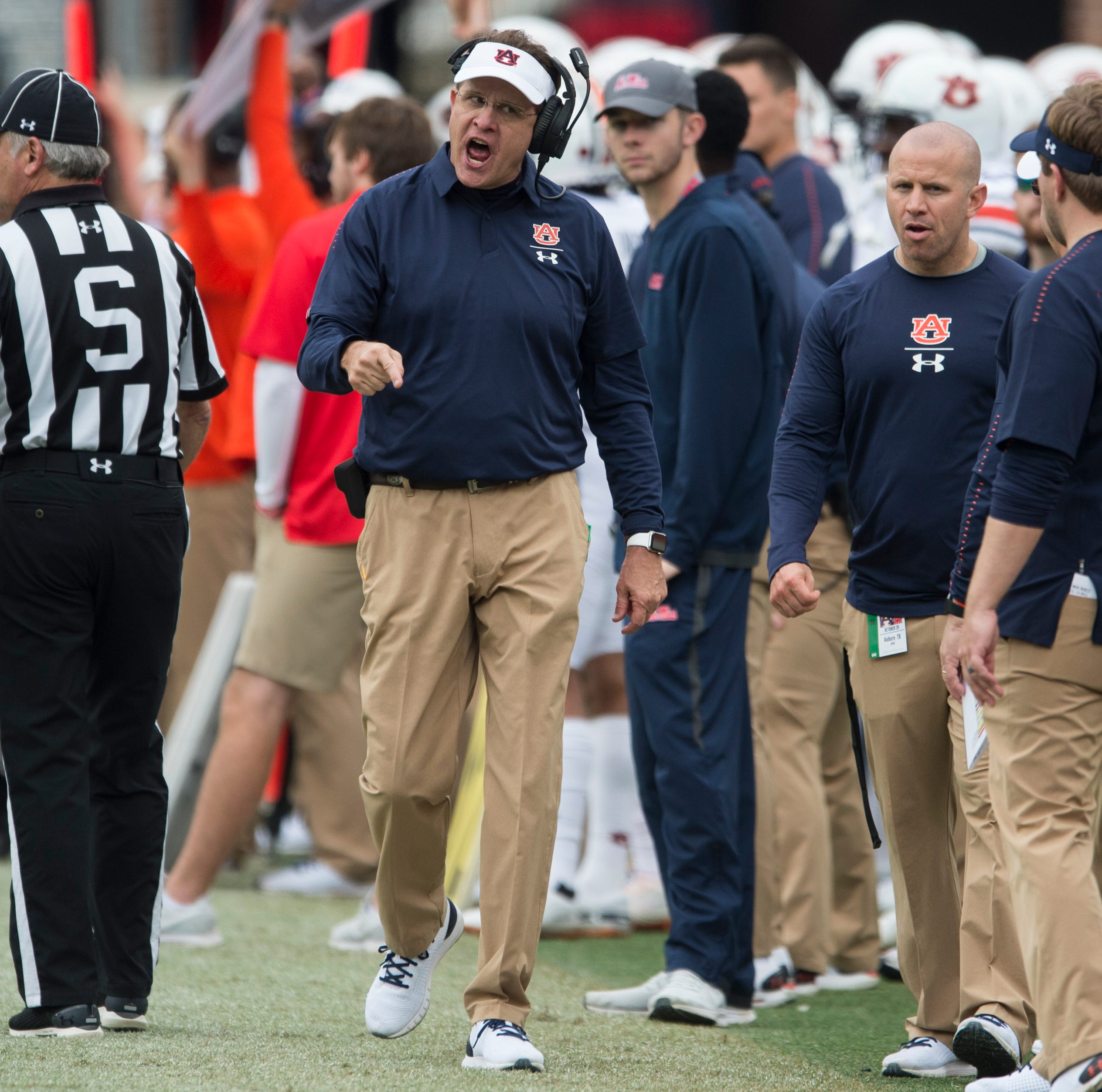 Malzahn's problems include giving up in the Iron Bowl too quickly