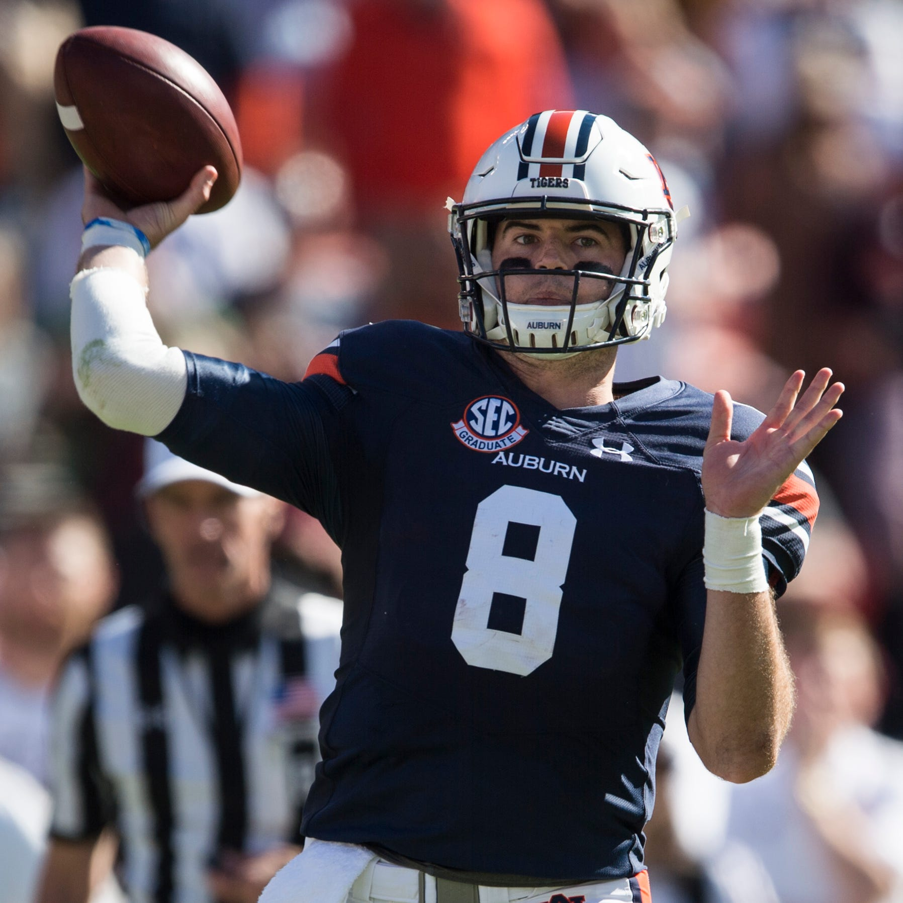 NFL Draft 2019: New England Patriots select Auburn QB Jarrett Stidham to help back up Tom Brady