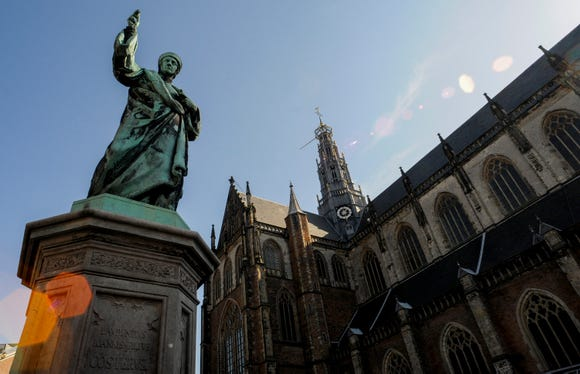 There are over 4000 monuments in Haarlem.