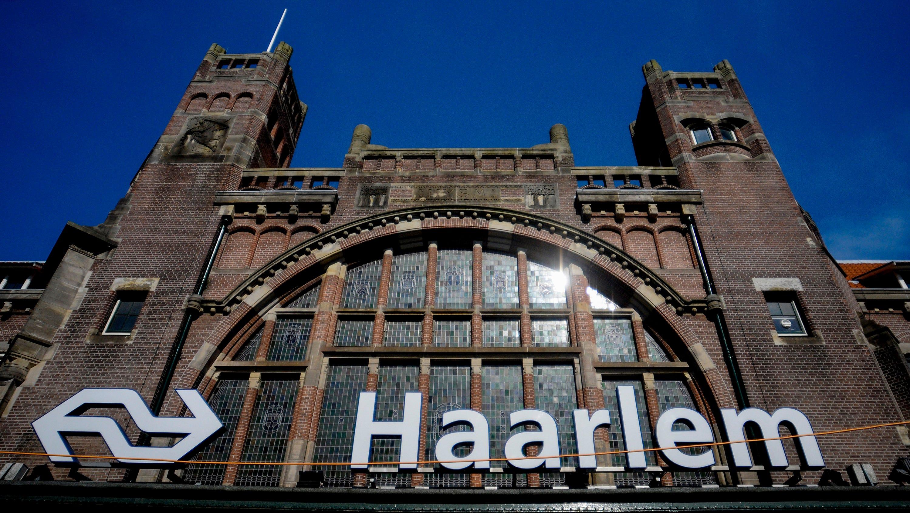 Haarlem train station.