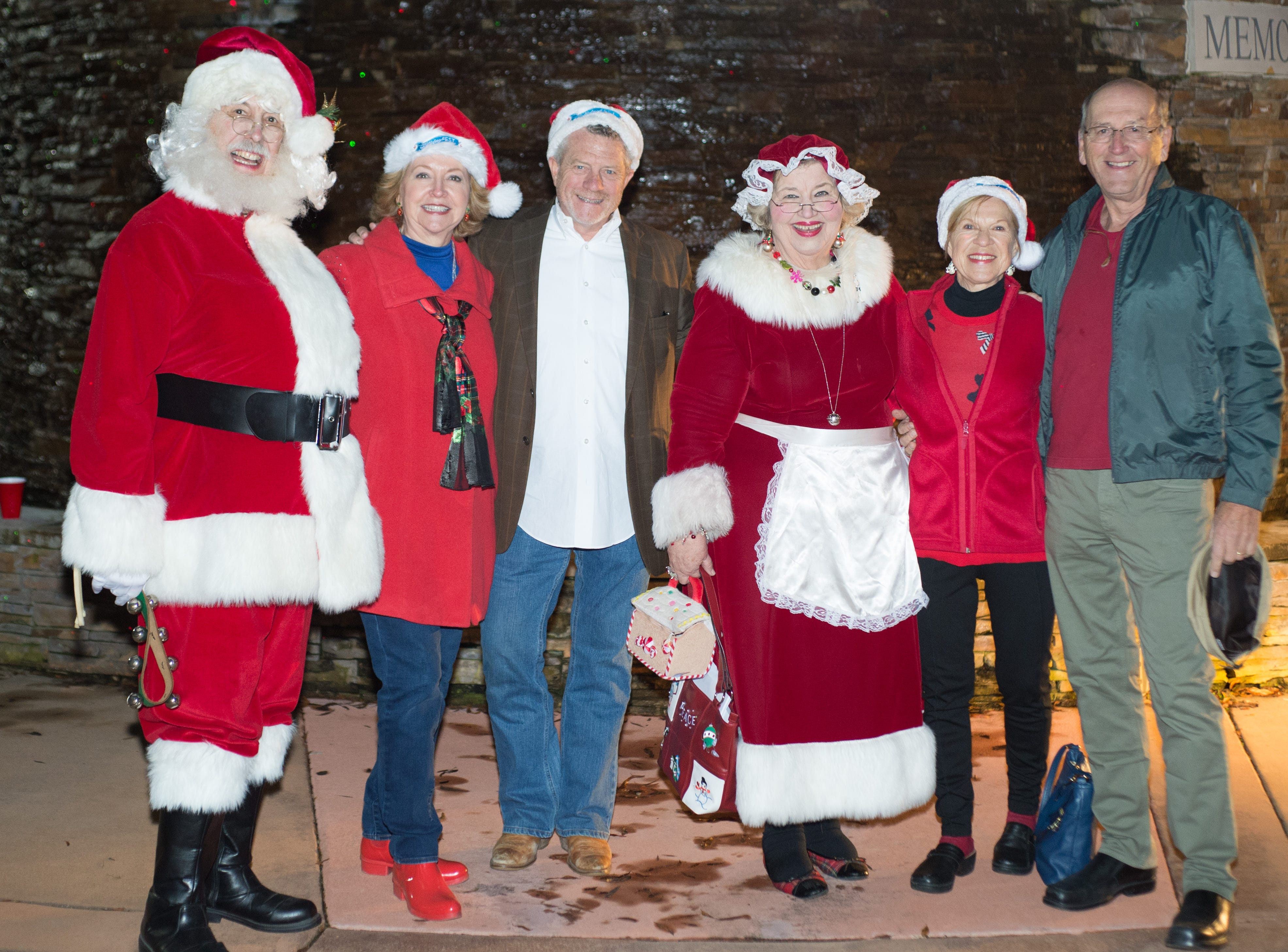 The Hendersonville HolidayFest Annual Tree Lighting Ceremony at Memorial Park on Sunday, Nov. 25.