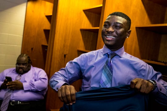 Cane Ridge's Devon Starling was named the Class 6A Mr. Football this past season.