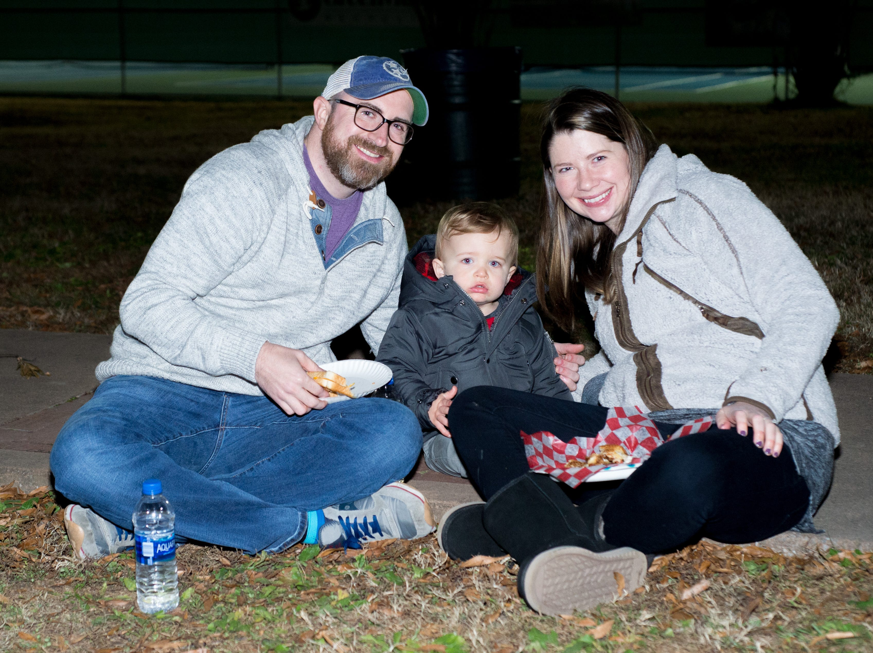 Families enjoyed the Hendersonville HolidayFest Annual Tree Lighting Ceremony at Memorial Park on Sunday, Nov. 25.