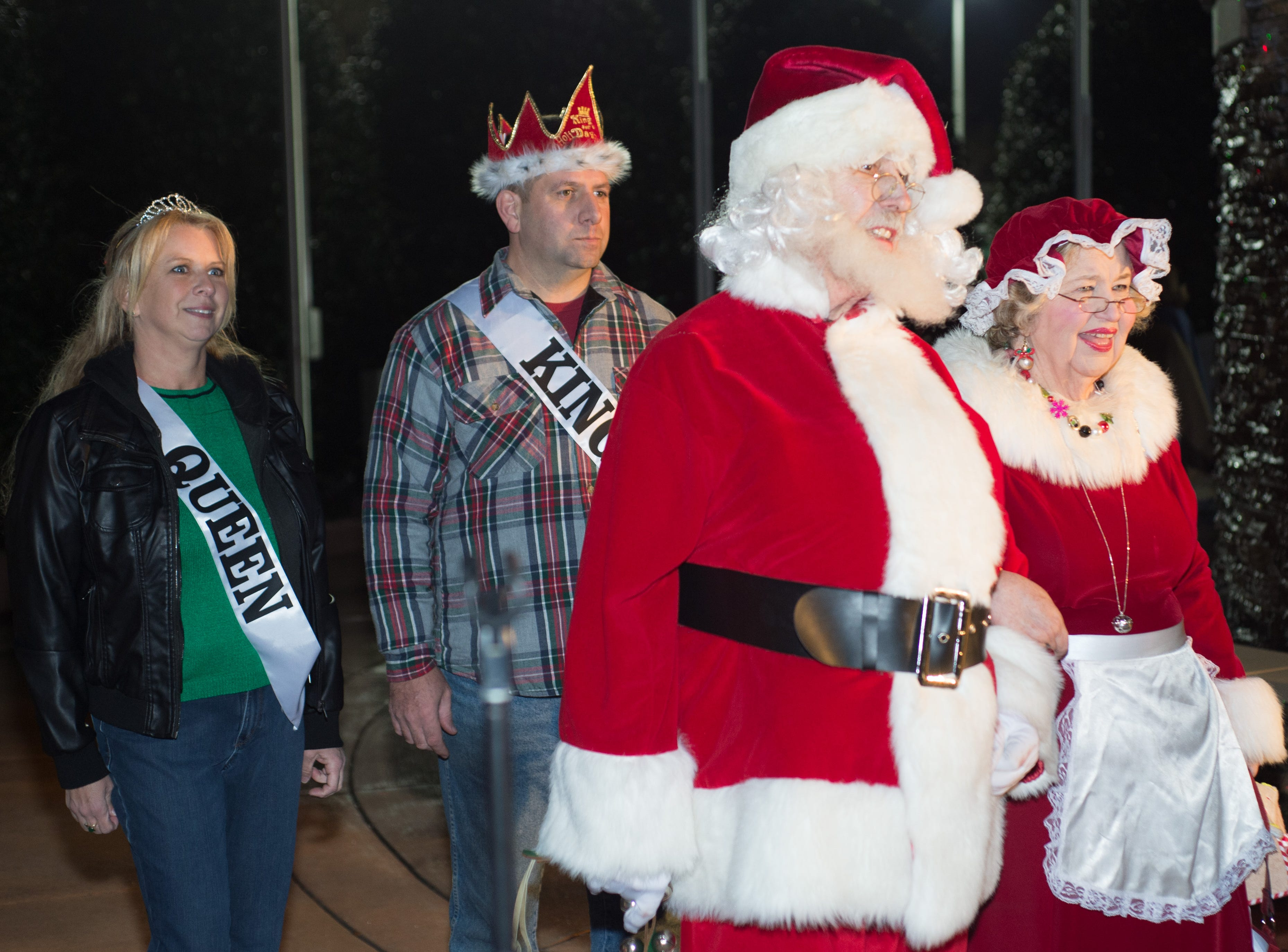 The Hendersonville HolidayFest Annual Tree Lighting Ceremony gets underway at Memorial Park on Sunday, Nov. 25.
