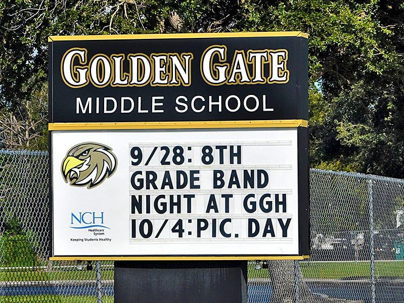 Golden Gate Middle School.