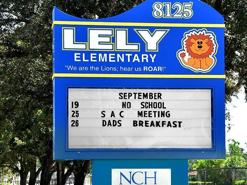 Lely Elementary School.
