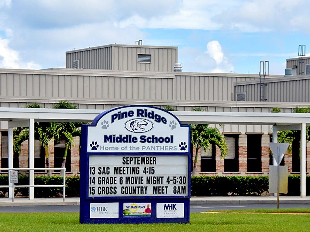 Pine Ridge Middle School.