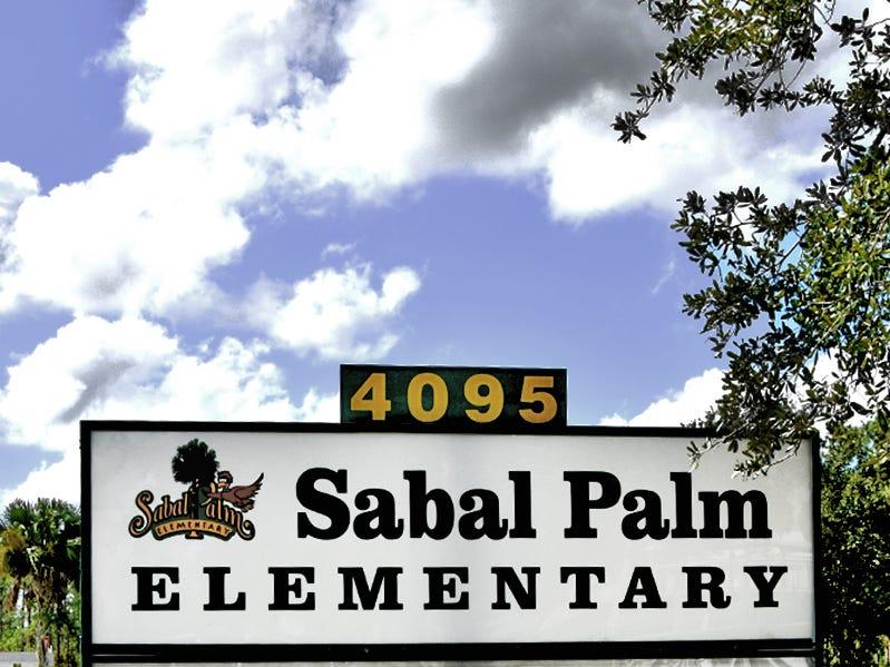 Sabal Palm Elementary School.