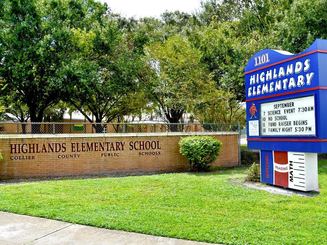 Highlands Elementary School.