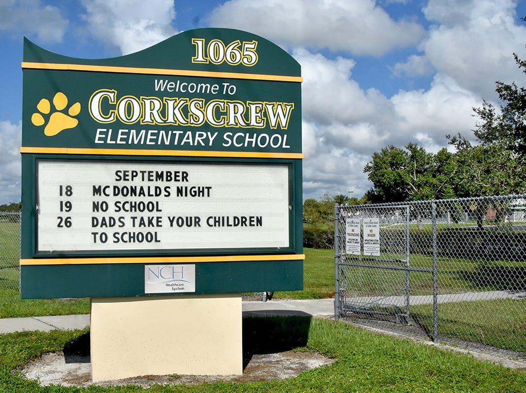 Corkscrew Elementary School.