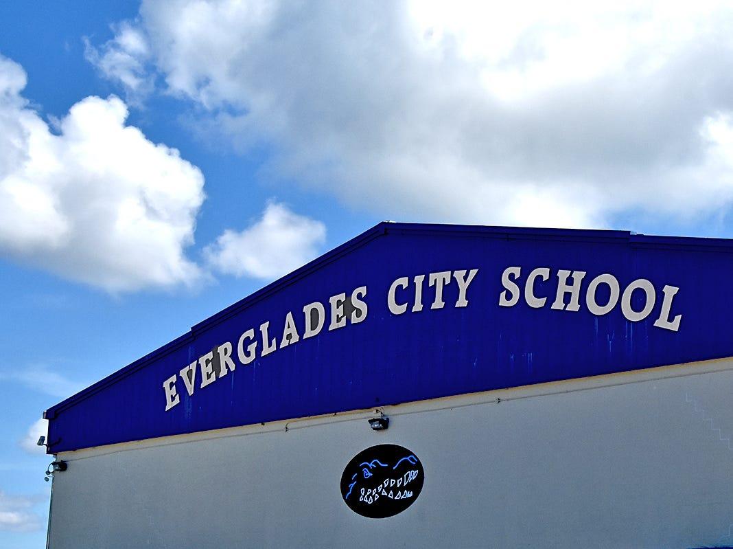 Everglades City School.