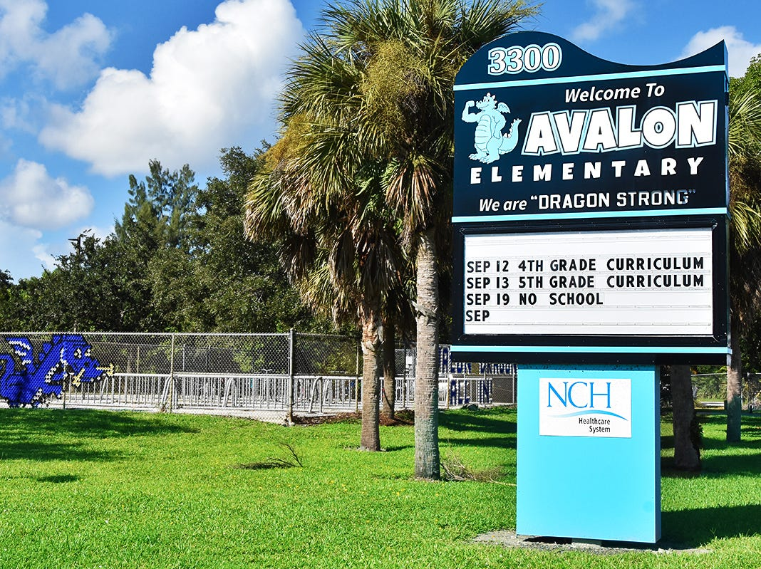 Avalon Elementary School.